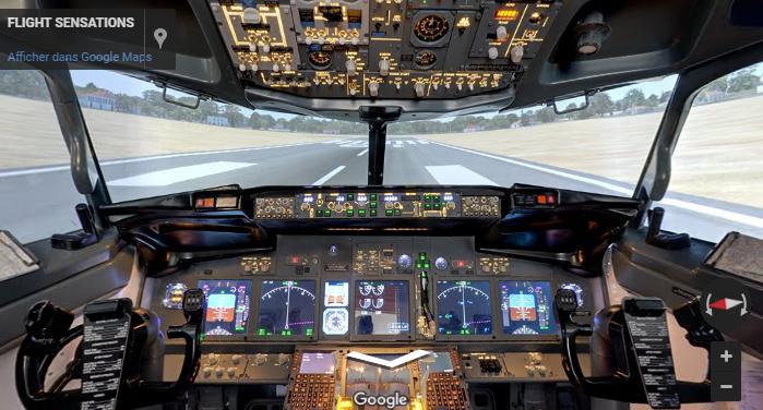 60 min de vol en Boeing 737 sur simulateur avec instructeur - Montpellier (34) et Paris (75)