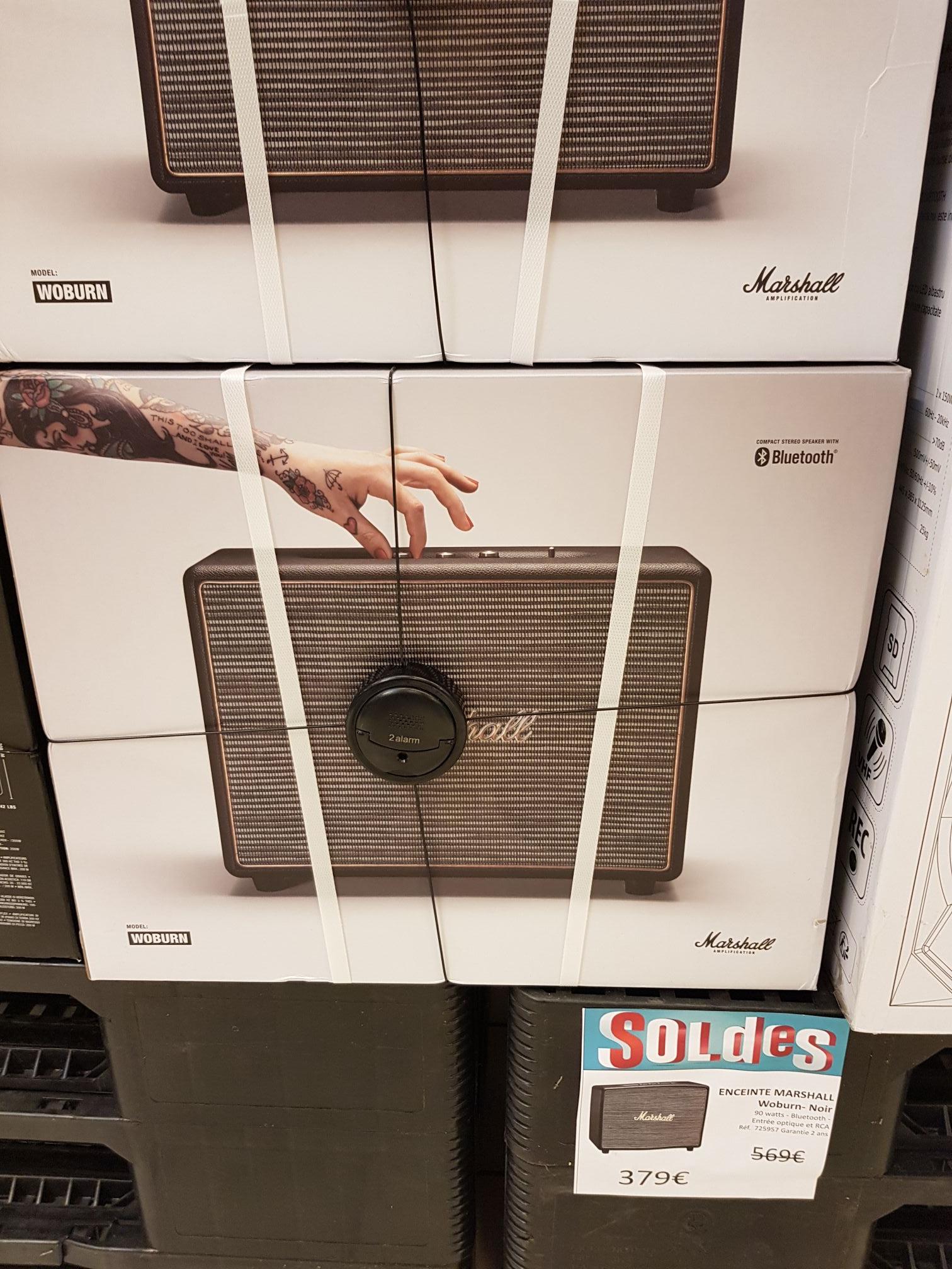 Enceinte sans fil Marshall Woburn - Bluetooth, Auchan Boissenart (77)