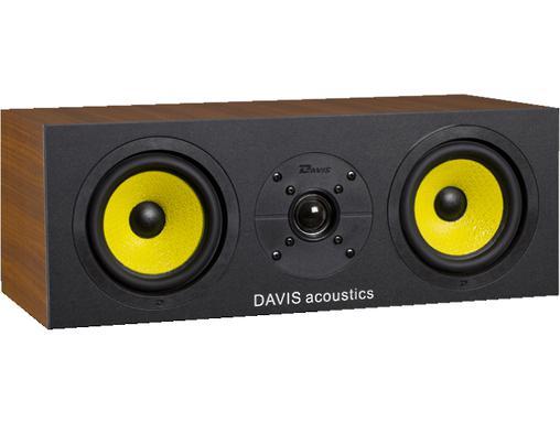 Enceinte centrale Davis Acoustics 3D en Noyer