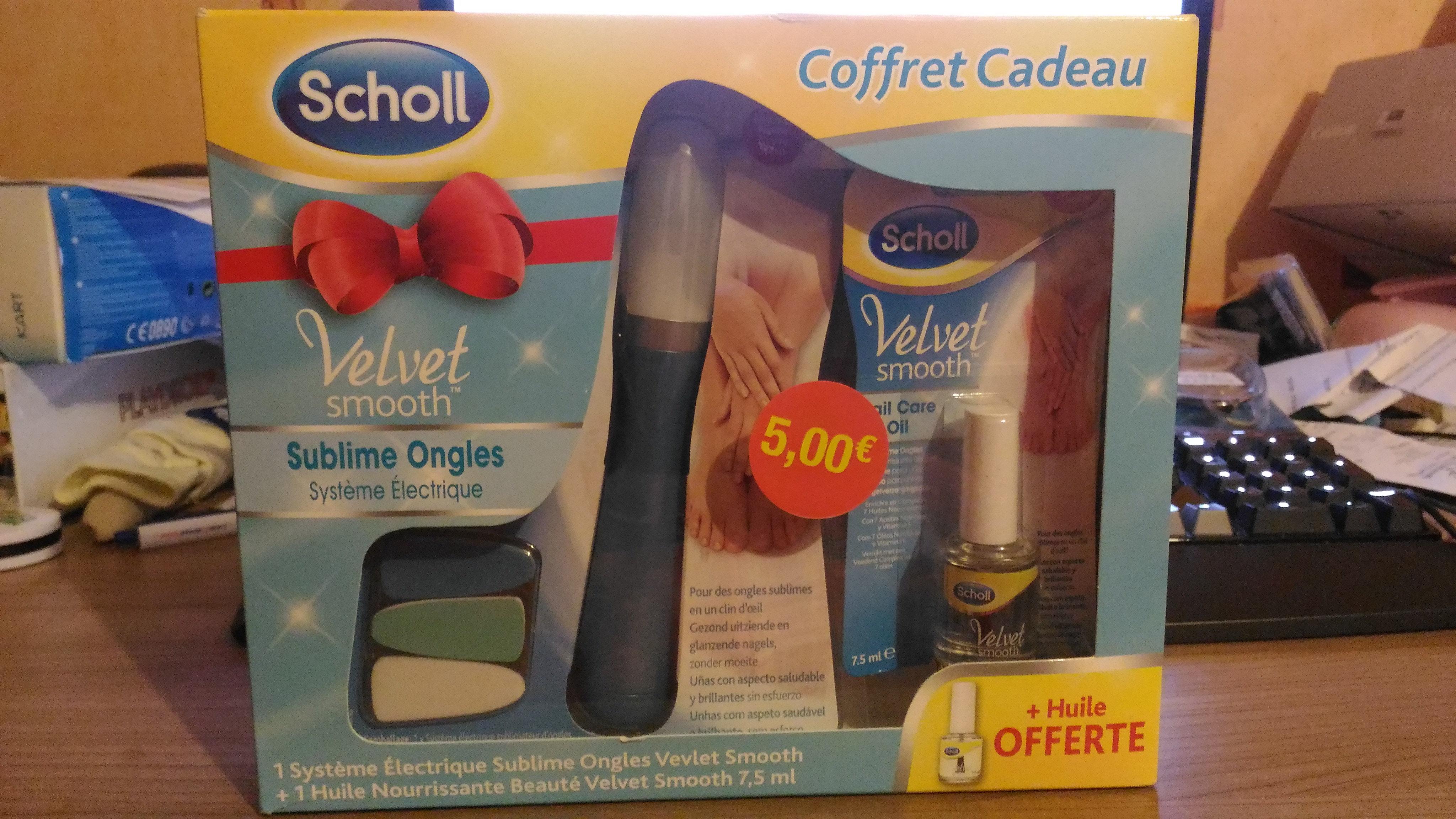 Coffret cadeau Scholl sublime ongles - Hyper U Blain (44)