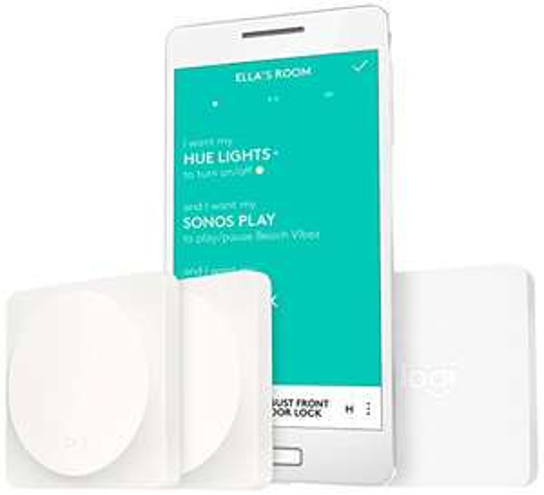 Kit de démarrage Logitech POP avec Interrupteur domotique Blanc