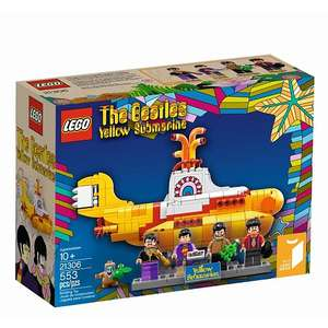 Jouet Lego Ideas 21306 - The Beatles Yellow Submarine (en ligne et en magasin)