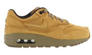 Chaussures Nike Air Max 1 Leather Premium Wheat Pack pour Hommes - Tailles 36-40
