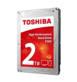 """Disque dur interne 3,5"""" Toshiba P300 High-Performance (7200 tours/min) - 2 To (Dépackagé, Testé & Approuvé)"""