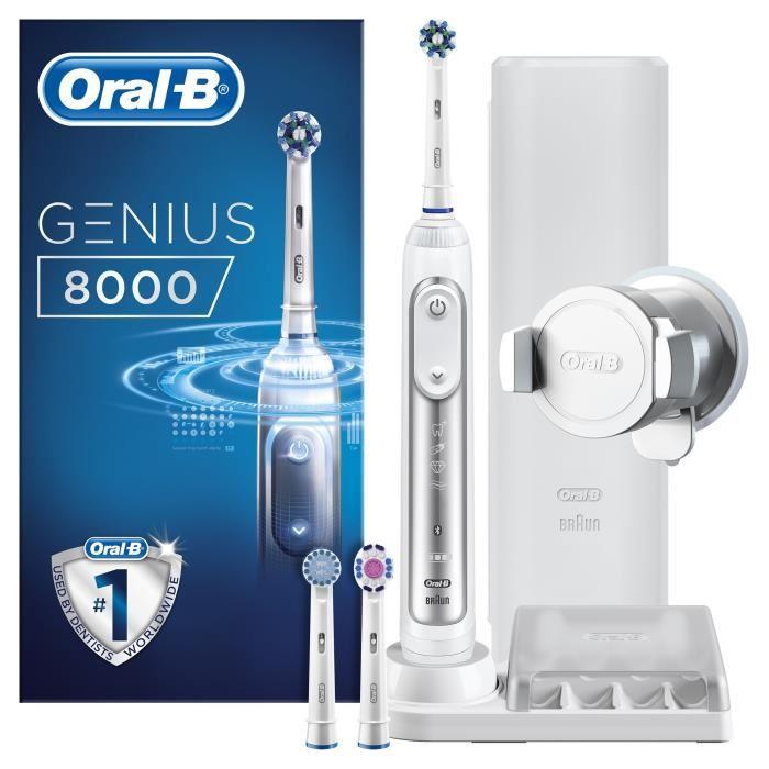 Brosse à dents électrique Braun Oral B Genius 8000