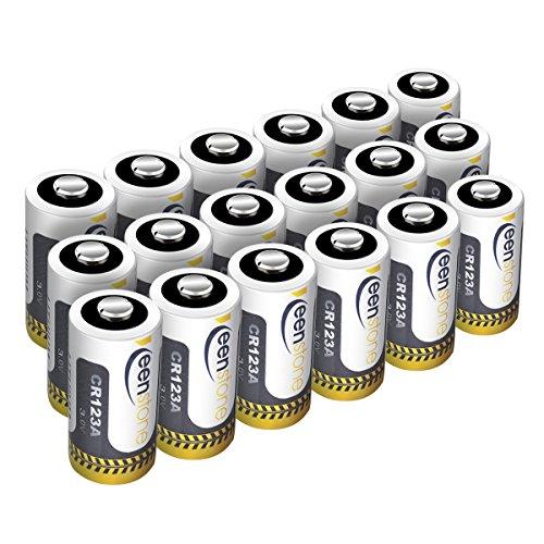Lot de 18 Piles Keenstone au Lithium CR123A