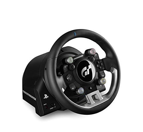 Volant Gainé de Cuir Thrustmaster T-GT compatible PS4 (Gran Turismo) et PC