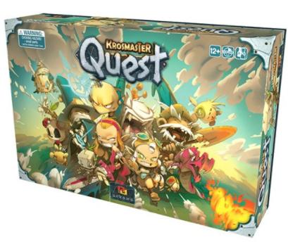 Krosmater Quest - jeu de plateau