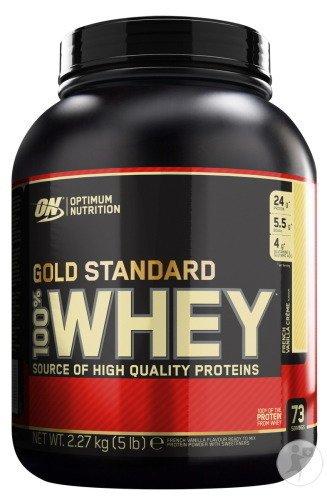 Proteine Whey Optimum Nutrition Gold Standard 100% Vanille - 2,27kg