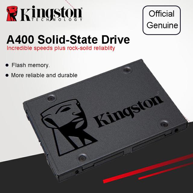 "SSD interne 2.5"" Kingston A400 - 120 Go (Vendeur Kingston)"
