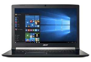"PC portable 15.6"" Full HD Acer Aspire 7 A715-71G-75B3 (i7-7700HQ, 8 Go RAM, 1 To HDD + 128 Go SSD, GTX 1050 2 Go, Windows 10)"