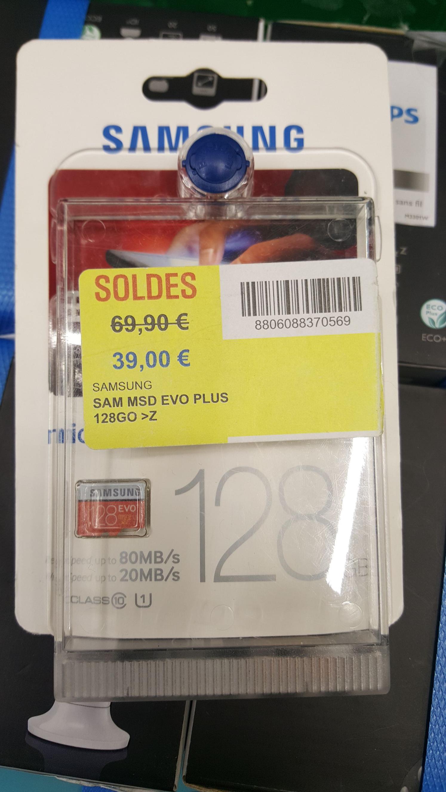 Carte micro SDXC Samsung 128go Evo+ - 128 Go - Saint Pol sur Mer (59)