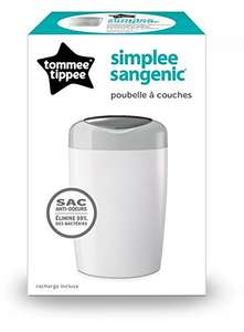 [Prime] Poubelle à couches Tommee Tippee Sangenic