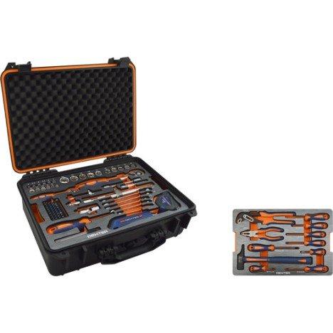 Malette à outils 105 pièces DEXTER  Leroy Merlin de Paris daumesnil (75)