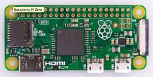 Mini-PC Raspberry Pi Zero V1.3 - ARM11 BCM2835, 512 Mo de RAM