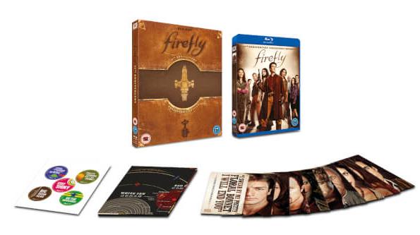 Coffret Blu-ray Firefly : L'intégrale de la série - Edition Collector 15ème anniversaire