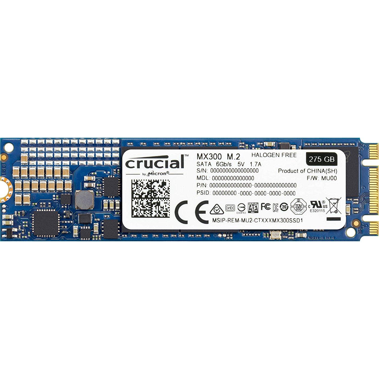 SSD interne M2 Crucial MX300 2280 - 275 Go