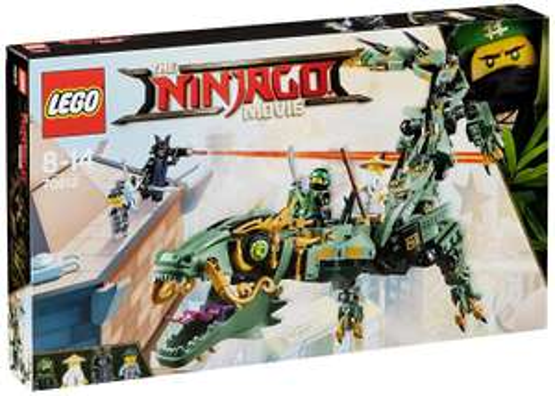 Jeu de construction Lego Ninjago Movie Le Dragon d'Acier de Lloyd n°70612