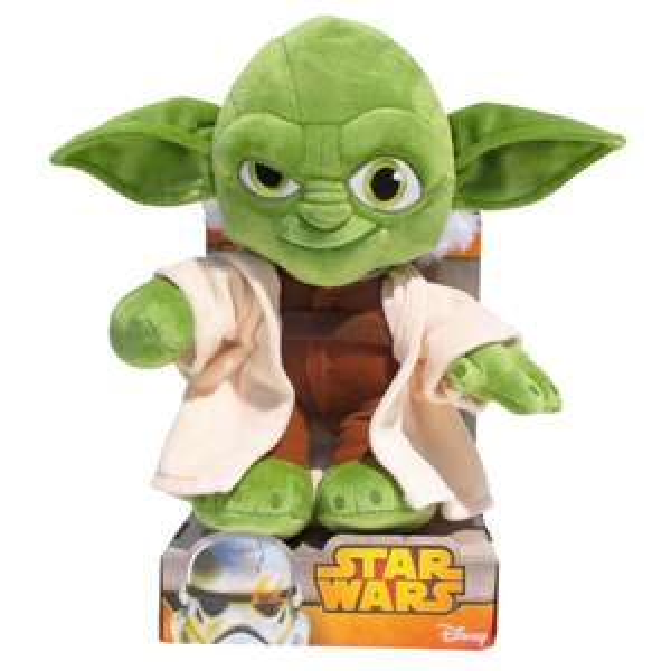 Peluche Star Wars : Yoda - 25cm
