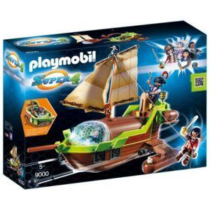 Set Playmobil Fort des pirates n°4796  à 21,69 € ou Bateau pirate caméléon n°9000