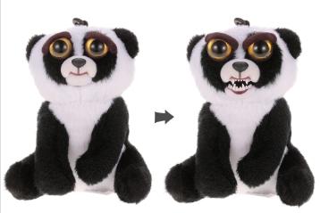 Pour toutes commandes sans minimum d'achats, 1 Mini Peluche Feisty Pets Offerte - 11cm (Au lieu de 12,03€ - Modèles au choix) - Ex: Panda Bear + Lot de 5 Growing Water Dinosaur Eggs