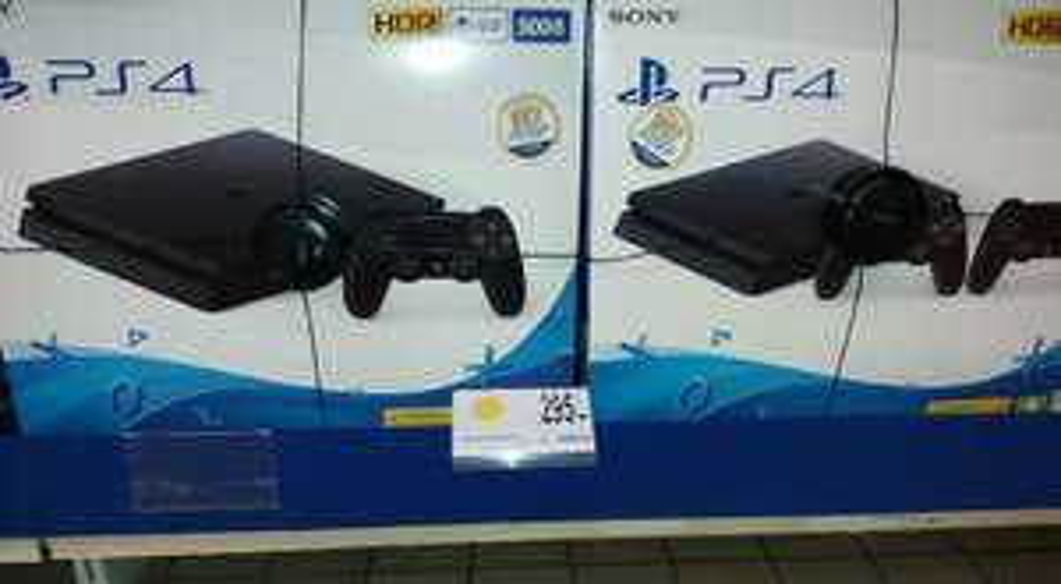 """Console Sony PS4 Slim 500 Go + Jeu à télécharger """"Qui es-tu ?"""" - Fontaine-Les-Dijon (21)"""