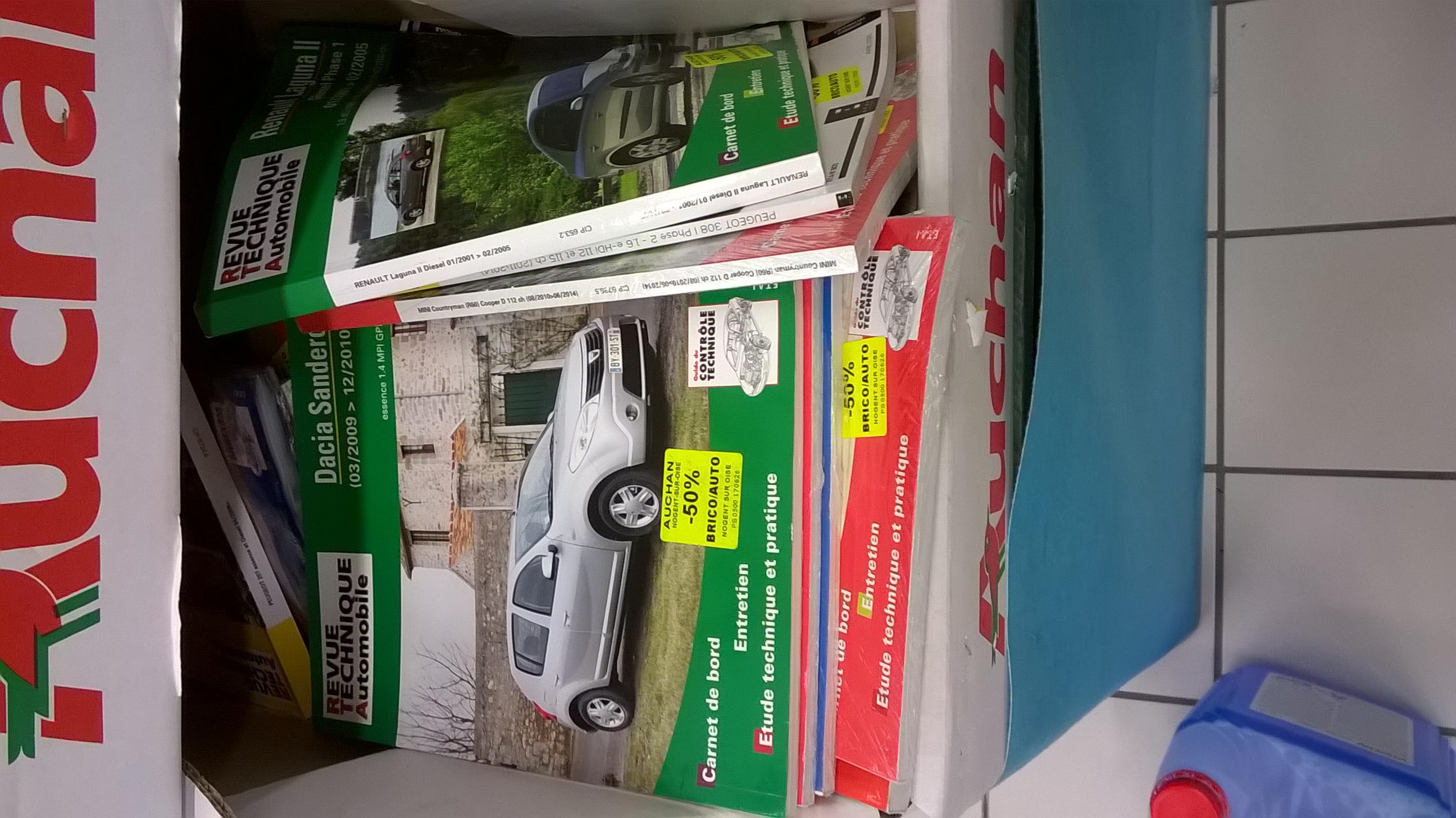 50% de réduction sur une sélection de revues techniques automobiles - Nogent Sur Oise (60)