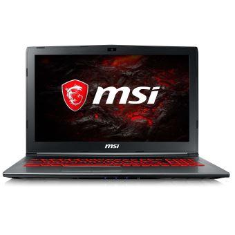"PC Portable 15.6"" MSI GV62 7RD-2269FR - Full HD, i5-7300HQ, 8 Go RAM, HDD 1 To, GTX 1050 - 4 Go, Windows 10"