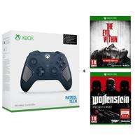 Manette Xbox One édition limitée « Patrol Tech » + Wolfenstein : The New Order + The Evil Within