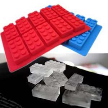 Bac à glaçons en forme de pièce de Lego