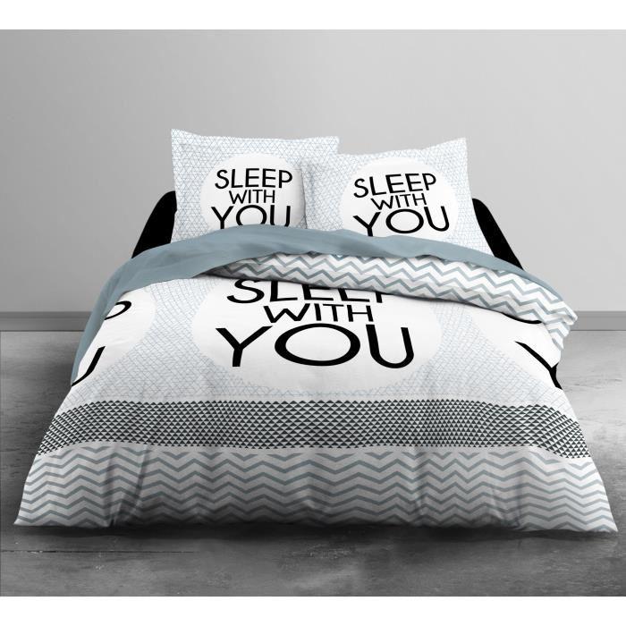 Parure de couette Enjoy Home Sleep home 100% coton