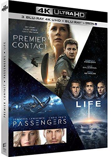 Coffret : Premier contact + Passengers + Life - Origine inconnue (4K Ultra HD + Blu-ray + Digital UltraViolet)