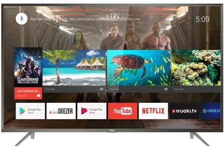 "TV 60"" TCL U60P6026 - LED, 4K UHD, Smart TV (via 100€ ODR) + 30€ offerts en carte cadeau"