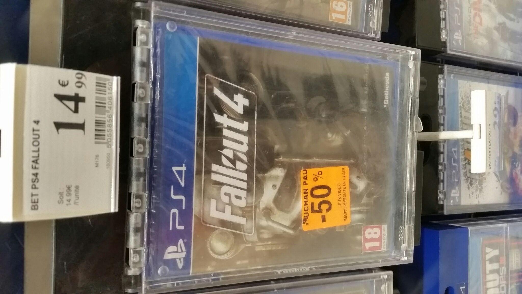 Sélection de jeux PS4 en promotion - Ex : Fallout 4 - Pau (64)