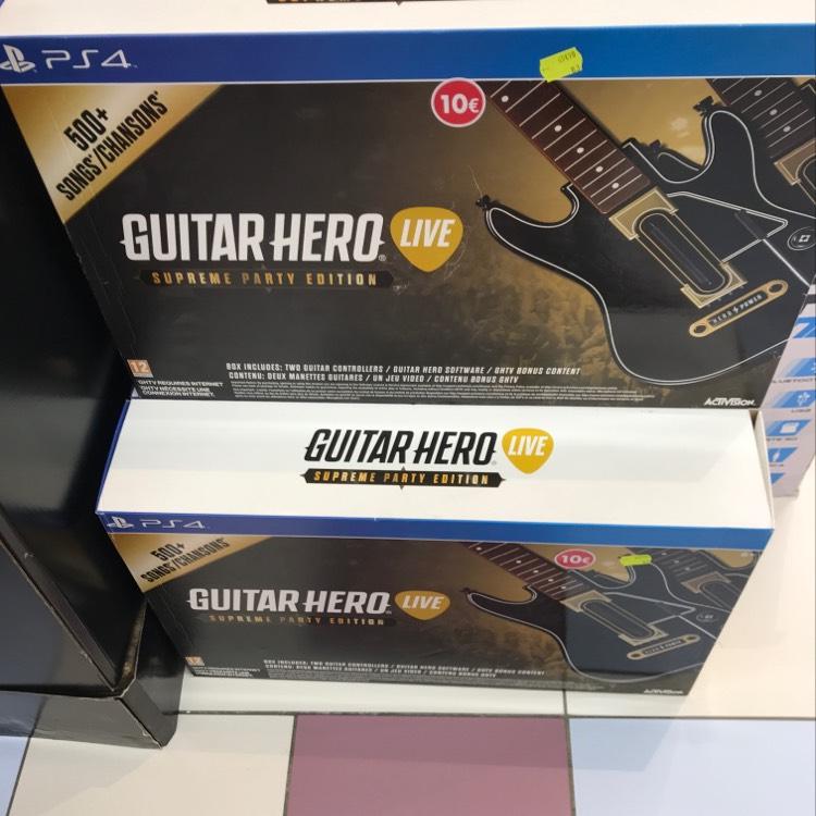 Guitare Hero Live sur PS4 - Qwartz Villeneuve-la-Garenne (92)