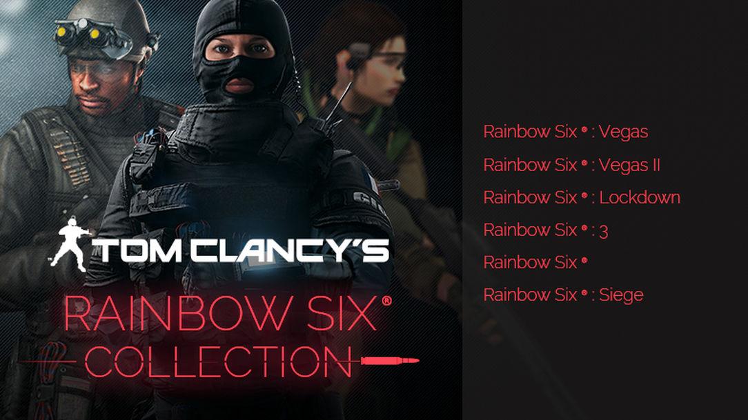 Tom Clancy's Rainbow Six Collection sur PC (Dématérialisé)