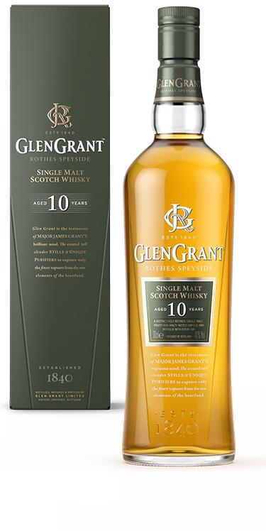 Bouteille de Glengrant  Single Malt Scotch Whisky-  70cl - 10 ans d'âge