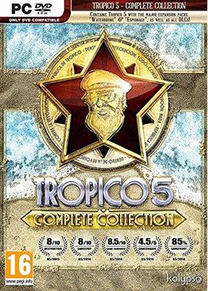 Tropico 5 Complete Collection sur PC : Le jeu + Toutes les extensions et DLC