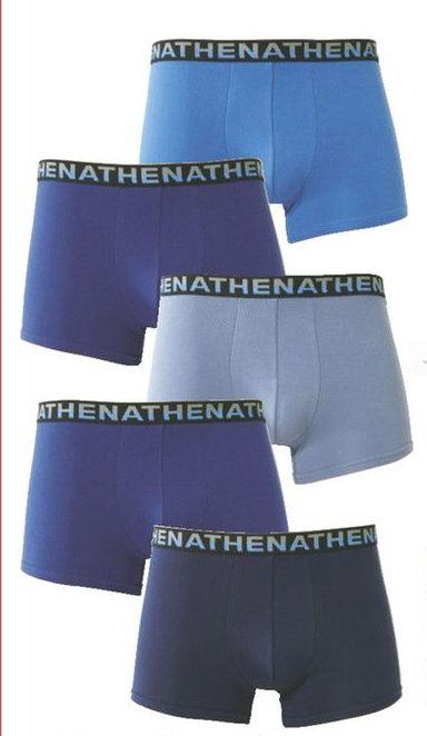 Lot de 5 boxers Athena Maxi Format (couleurs au choix)