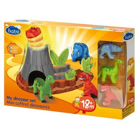Mon coffret dinosaures Baby (via 0,60€ sur la carte waaoh)