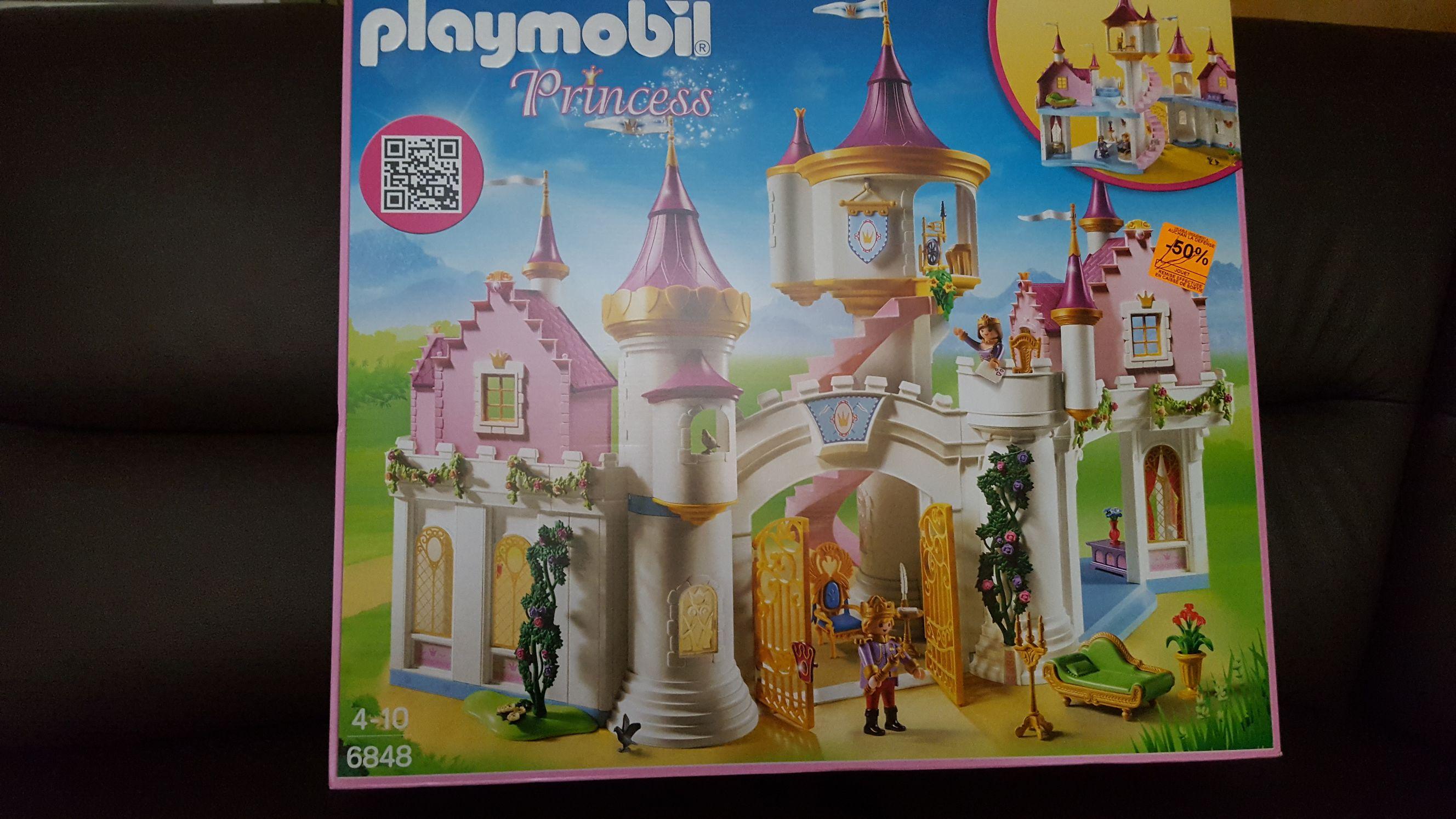 Jouet Playmobil Grand château de princesse 6848 - La Défense (92)