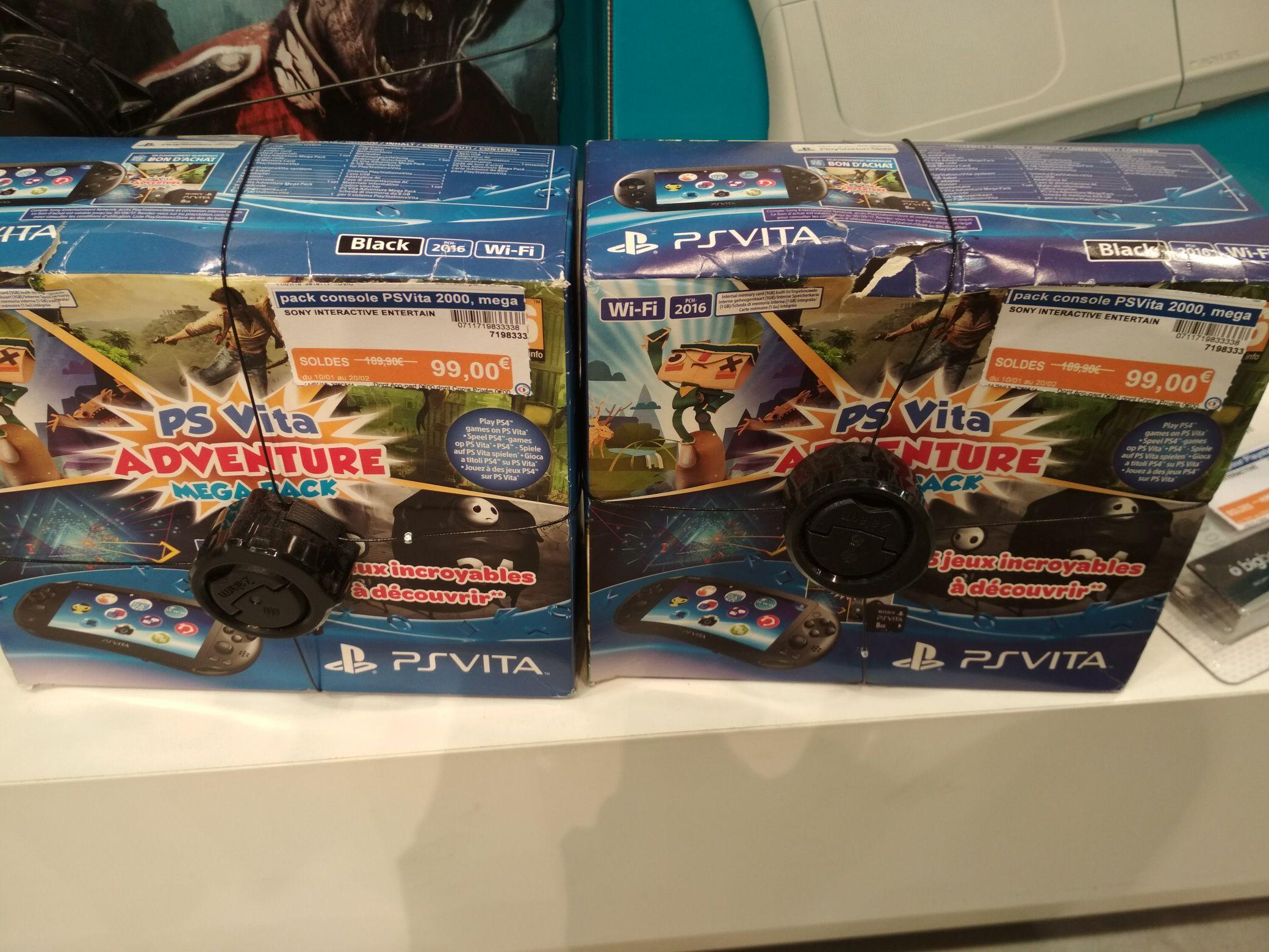 Console Sony PS Vita Adventure Mega Pack - Espace Culturel E.Leclerc Ancenis (44)
