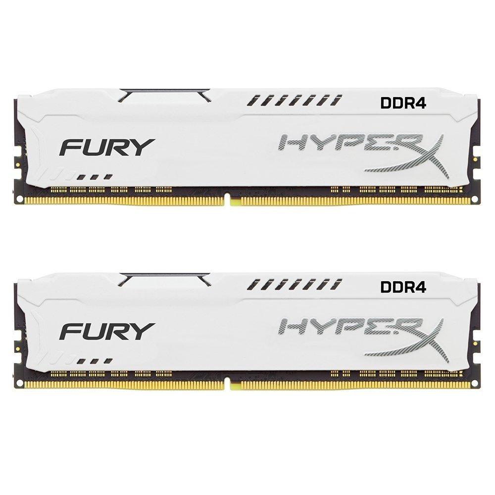 Kit mémoire Ram DDR4 HyperX Fury 16 Go (2x8 Go) - 2666 MHz, CAS 16
