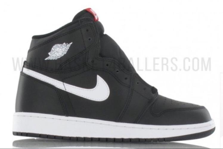 Chaussures Air Jordan 1 Retro High OG Enfant Yin Yang noir GS