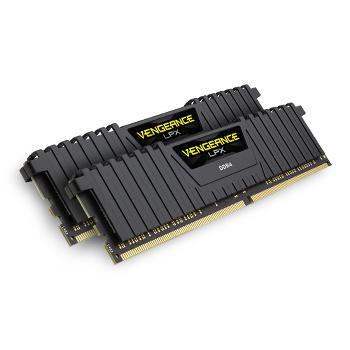 Barrette de RAm Corsair vengeance LPX black DDR4 2x8 Go 3000 MHz CAS 15