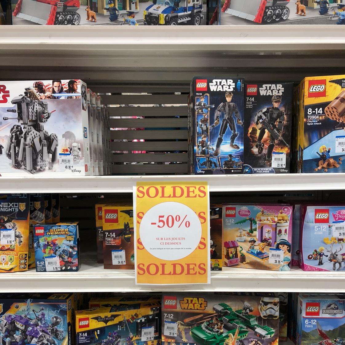 50% de réduction sur une sélection de Lego - Agneaux (50)