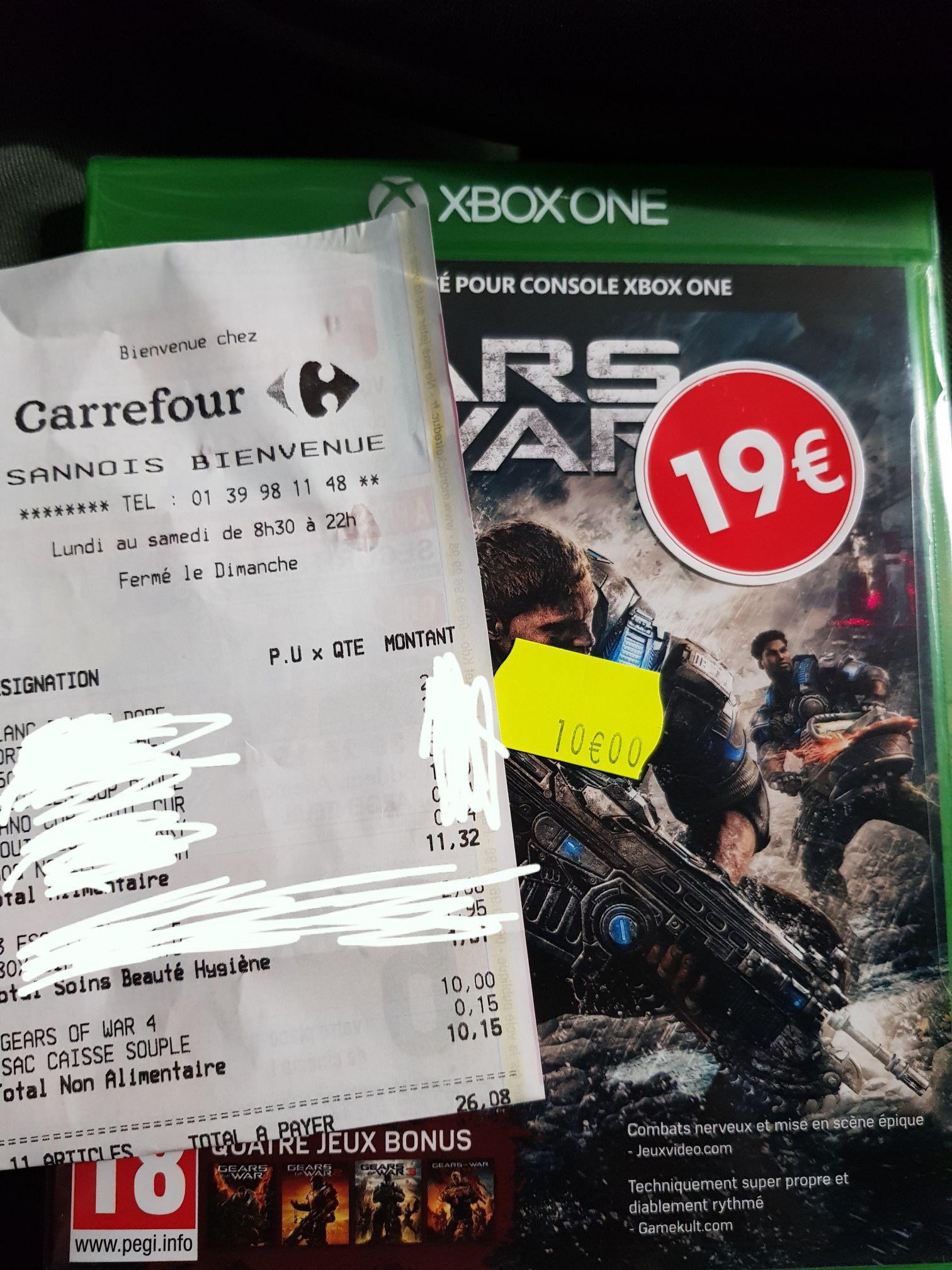 Sélection de jeux Xbox One en promotion - Ex : Gear of War 4 - Sannois (95)