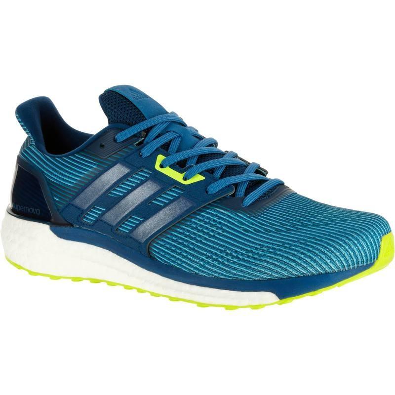 Chaussures de running Adidas Supernova Boost 9 pour Homme - Bleu (Taille 43 ou 44)