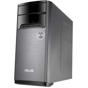 PC de bureau Asus M32CD-K-FR022T - i5-7400, RAM 8 Go, HDD 1 To + SSD 128 Go, GTX 1060 3 Go, Windows 10