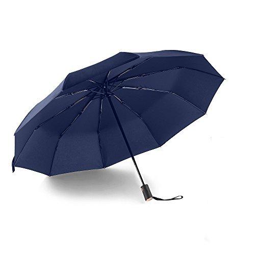 Parapluie automatique Bodyguard - Téflon 210T, 10 Baleines, Noit ou Bleu (vendeur tiers)